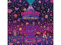 2 Parklife weekend tickets