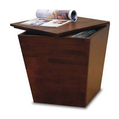 Cube Storage End Table