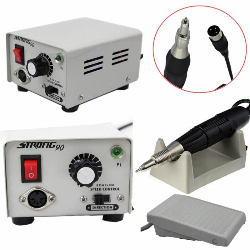 Micromotor Dental Lab Marathon Strong 90 Micro Motor+35K RPM Polisher Handpiece