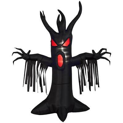 Halloween Gemmy 9 ft Animated Scary Reaching Tree Airblown Inflatable NIB (Monster Door Decorations)