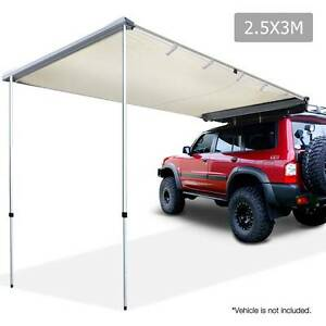 2.5X3M Car Awning - Beige - free shipping and 12 month warranty Hobart CBD Hobart City Preview