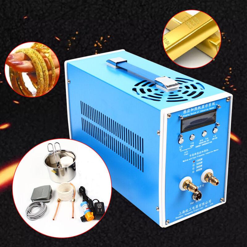 High Frequency Induction Heater Furnace Heating Machine ZVS-4 wuth Crucible DIY