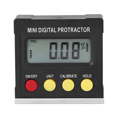 Horizontal Angle Meter Digital Protractor Inclinometer Electronic Level Box Z2c5