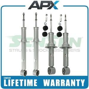 Front and Rear Struts for 03-06 Lincoln LS