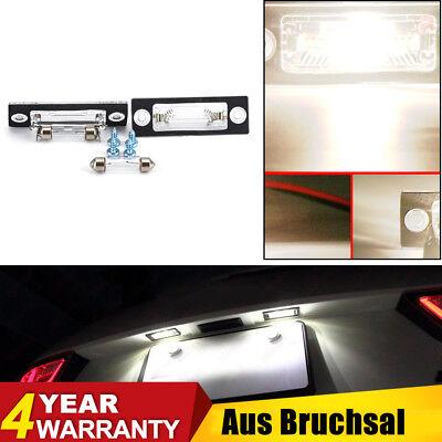 Paar Kennzeichenbeleuchtung für VW T5 Passat 3C B6 Caddy Touran Golf Plus Skoda gebraucht kaufen  Deutschland