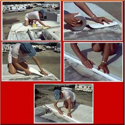 White Eternabond Mobile Home Rv Rubber Roof Repair 2 X 10 Flashing Roofing