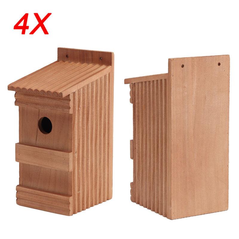 Nistkasten 10 x Nistkästen für die Vögel Vogelhaus aus Holz Super-Set 14-N-10