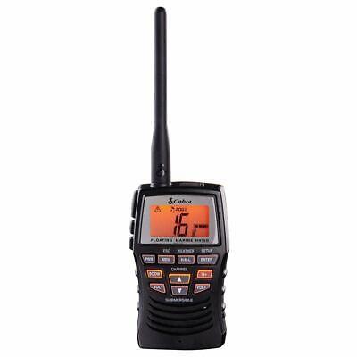 Cobra MR HH150 FLT Floating Waterproof Handheld VHF Radio 3 Watt
