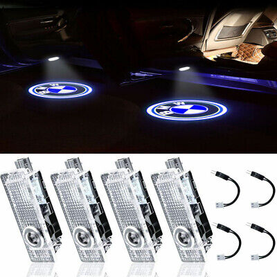 4Pcs Car Door Welcome LED Light Courtesy Projector Ghost Shadow  For BMW Series