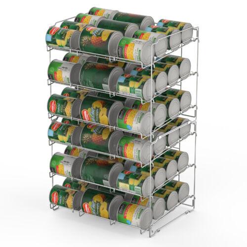 36 Can Storage Rack Pantry Organizer Kitchen Cabinet Shelf S