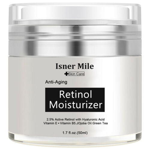 PURE RETINOL VITAMIN A 2.5% Anti Aging Wrinkle Acne Face Facial Serum / Cream Anti-Aging Products