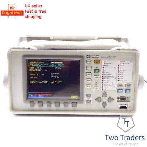 HP Agilent 37717C OmniBER 717 Communications Analyzer w/ Options A3R A3K UKJ A3L