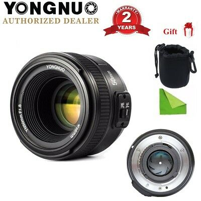 Yongnuo YN50mm F1.8 Auto Focus Lens Large Aperture MF AF For Nikon D3200 D5300