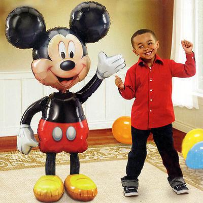 Jumbo Birthday Foil Balloon Mickey Mouse Airwalker 52