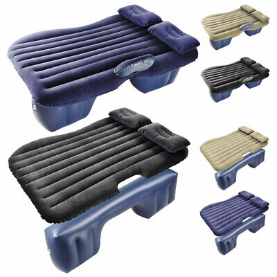 Inflatable Mattress Car Air Bed Backseat Cushion Travel Camp