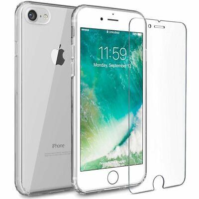 Apple iPhone 6 / 6s Slim Case Cover Hülle Tasche Handy Schutz Etui + Schutzglas (Apple Iphone6 Silikonhülle)