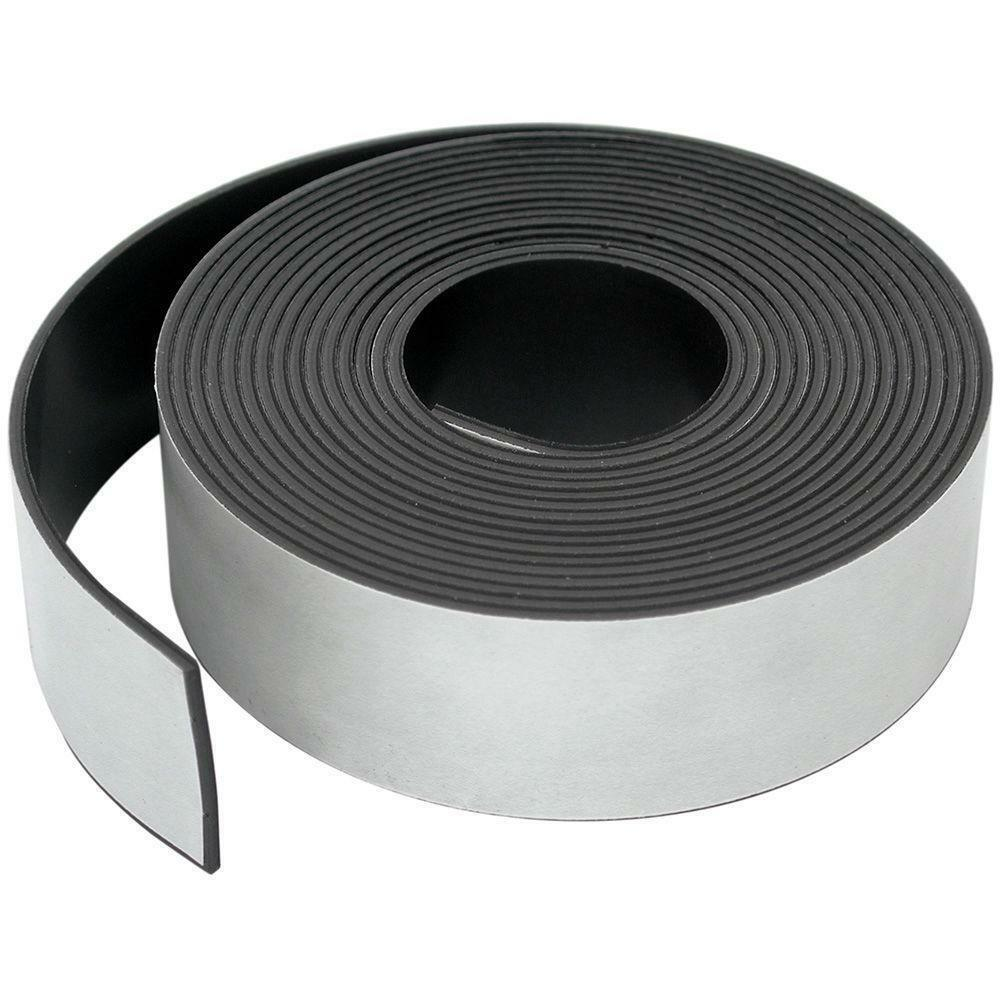 3M Self Adhesive strong backing Magnetic Tape Craft Magnet Strip 20mmx 90mm x 10