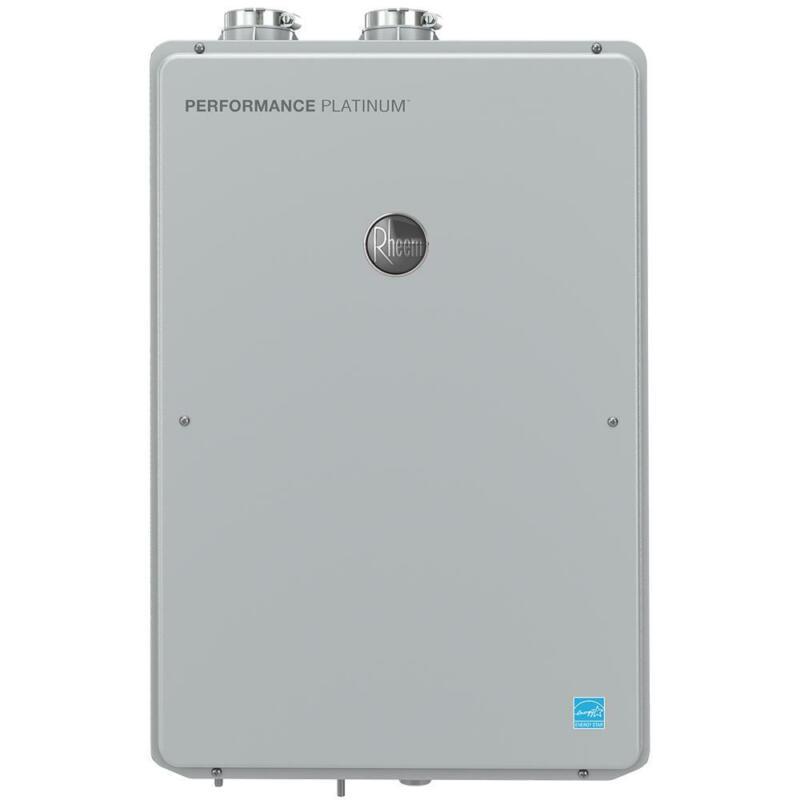 Rheem Performance Platinum 9.5 GPM Natural Gas High Efficiency Indoor Tankless