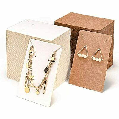 Earring Display Cardnecklace Cards 600 Pack Set300 Cards300self-sealing Bags
