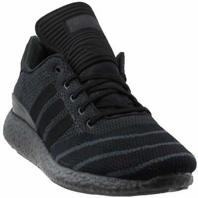 adidas Buzenitz Pure Boost Primeknit  Casual Training Stability Shoes Black Mens