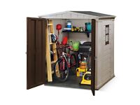 Brand New Keter Factor 6x6 Garden Shed RRP : £460