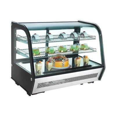 Marchia Mdc160 36 Refrigerated Countertop Bakery Display Case With Led