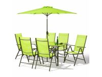 Textoline 8 Piece Patio Set - Brand new in Box - Table And Chairs