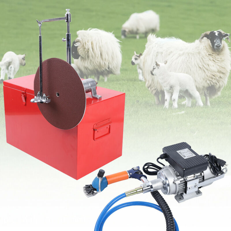 Professional Electric Shearing Machine Clipper Shears Sheep Goats Shear 320W USA