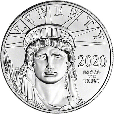 2020 American Platinum Eagle 1 oz $100 - BU