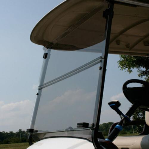 Yamaha Drive2 (2017-Up) Tinted Folding Golf Cart Windshield - US Made