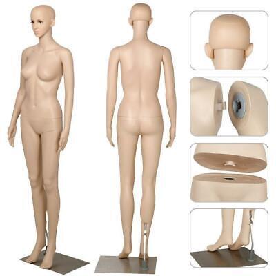 5.77f Tfemale Mannequin Realistic Full Body Display Head Turn Dress Form