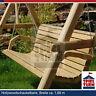 HOQ Hollywoodschaukel Bank Natur aus Holz Gartenmöbel Gartenbank OHNE Gestell