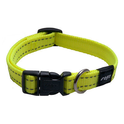 Rogz Dog Collar Side Release - Snake Medium 10-14in neck - U