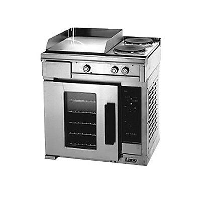 "Lang R30C-PTB 30"" Electric Range W/ 1 12"" Hot Plate & 2 French Plates"