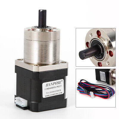 Extruder Gear Stepper Motor Ratio 127 Planetary Gearbox Nema 17 Step Motor