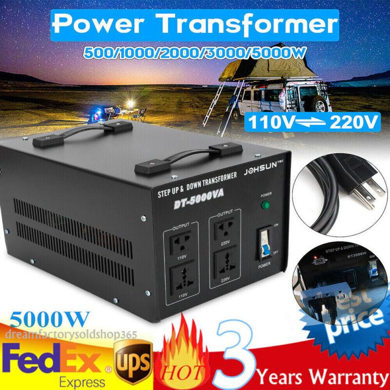 5000W Step Up and Down Transformer 110V⇋220V Power Voltage Converter Stabilizer