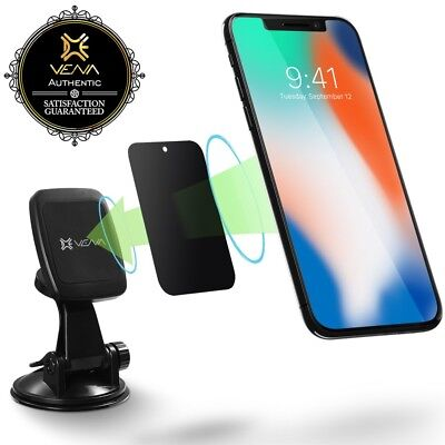 Dashboard Window Car Mount Magnetic Phone Holder for iPhone XS Galaxy S9 Pixel 3 for sale  Shipping to India