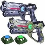 Light Battle Camo Laser Game Set - 2 Laserguns + 2 Targets