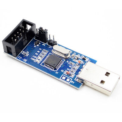 USBASP USBISP LC-01 51 AVR Programmierer 10 Pin Cable USB ATMEGA8 AIP (Avr 8 Pin)