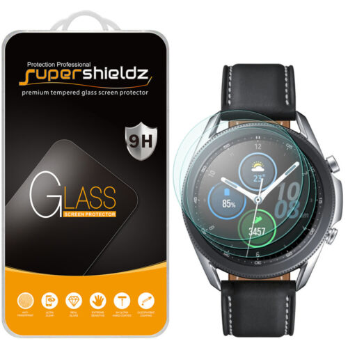 3X Supershieldz Tempered Glass Screen Protector for Samsung Galaxy Watch 3 45mm