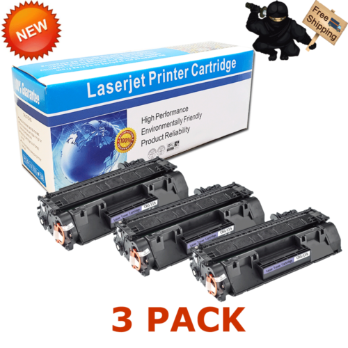 3 PK CRG-119 Toner Cartridge For Canon 119 Printer ImageClass LBP6650dn MF5950dw
