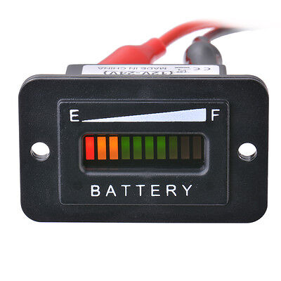 12V-24V Car Vehicle Battery Capacity Indicator Tester Gauge Meter Monitor MA972