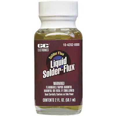 Gc Electronics 10-4202 Liquid Solder Flux 2 Fl. Oz. Bottle