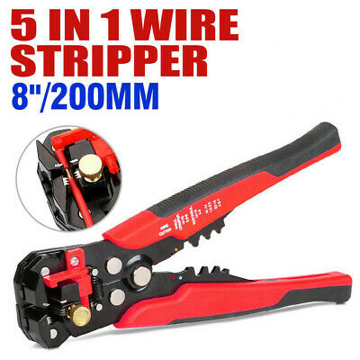 Automatic Wire Cutter Stripper Pliers Electrical Cable Crimper Terminal Tool Hw