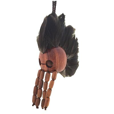 Small Hawaiian Koa Wood Ikaika Hawaii Warrior Helmet