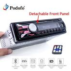 Podofo Autoradio Stereo Speler Bluetooth Telefoon AUX-IN MP3