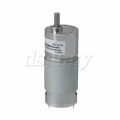 12v Dc 210rpm High Torque Electric Motor Low Noise Gear Box Reduction Motor