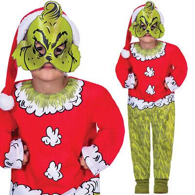 Kinder Kinder Grinch Kostüm Dr Seuss - Grinch Kostüm Kind