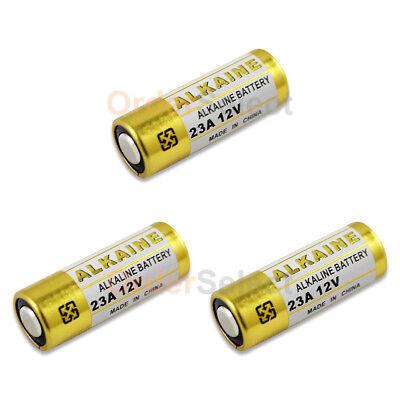 3 PACK NEW Battery VR22 L1028 A23 23A 23AE A23BP MN21 MN23 21/23 US Seller HOT!