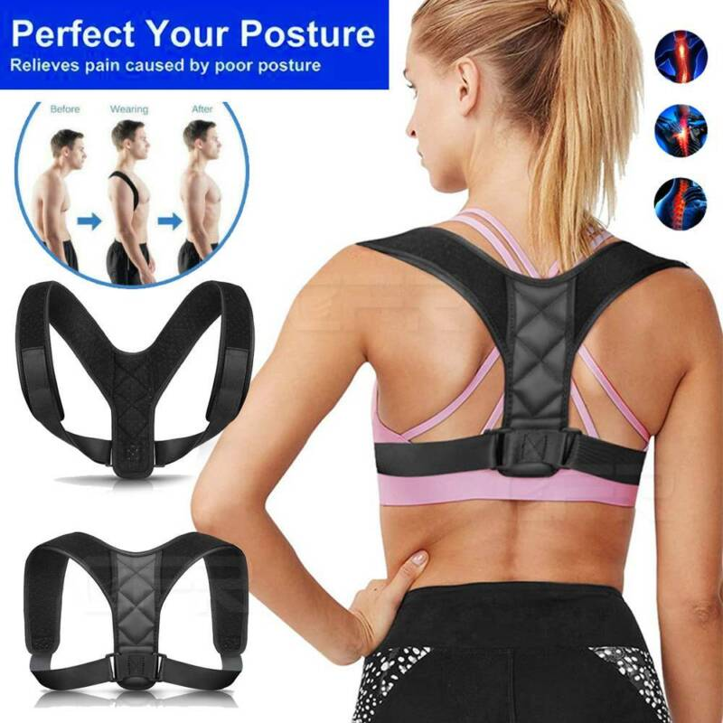 CFR Posture Corrector Corset Back Brace Support Shoulder Str